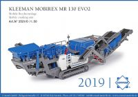Conrad Kleemann Mobirex MR 130 EVO2 Mobile crushing unit (Pre Order)